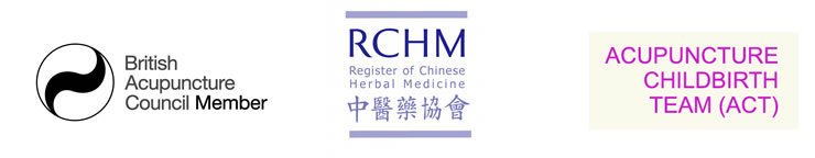 British Acupuncture Council Member, RCHM, Acupuncture Child birth Team.